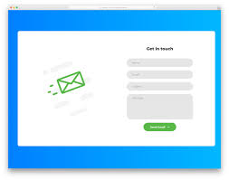 Contact Form Design 25 Bootstrap Contact Form Examples To Elicit Positive Emotions