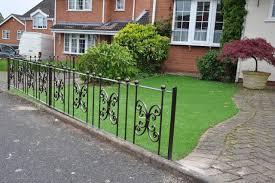 wrought iron lawn edging panels