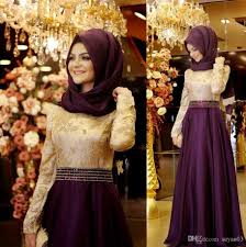 Long Formal Muslim Evening Dress Hijab Islamic Dubai Abaya Kaftan