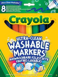 <b>Crayola</b> Набор смываемых <b>фломастеров Супер чисто</b> 8 шт ...
