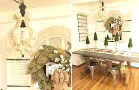 distressed white wood chandelier distressed wood
