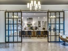 O Glass Office Barn Doors