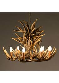antler large chandelier resin at best item qjlp 4212