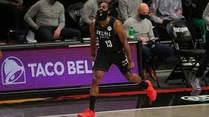 James Harden leaves Game 1 with ...