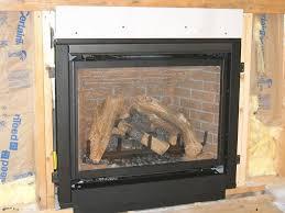 photos of fireplace installation