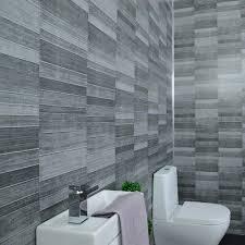 grey bathroom cladding tile effect 5mm