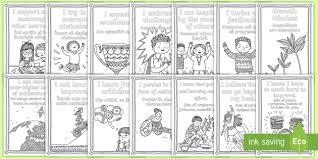 Growth Mindset Statements Coloring Pages Romanianenglish Mindfulness