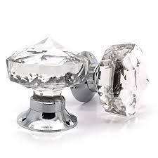 glass door knobs. Exellent Knobs Pair Of Crystal Cut Faceted Clear Glass Door Knobs Large Glass Turning  Mortice Door Handles To Knobs O