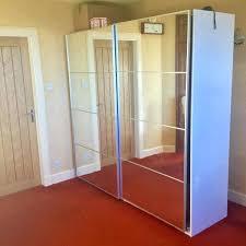 mirror closet sliding doors ikea ikea double mirrored
