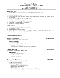 Waiter Resume Sample Hotel Waiter Resume Sample Friends And Relatives Records 34