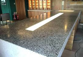 wax concrete countertop waxed concrete and polished concrete counter brought to true shine sealed with an wax concrete countertop