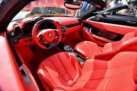 ferrari 458 white interior. ferrari 458 white interior
