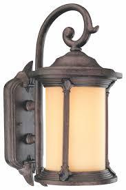 lighting narrow outdoor box