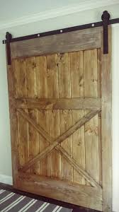 decorating surprising diy sliding barn door 4 barnfinal 0 diy sliding barn door console table