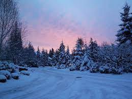 Winter desktop background ...