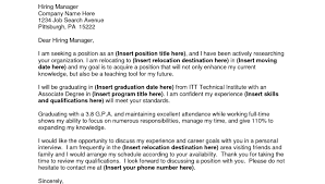 Cover Letter For Out Of State Job Cover Letter For A Job Out Of