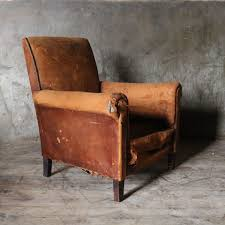 sugden daughters french vintage leather club chair