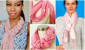 Наглядные фотоинструкции, как красиво <b>завязать шарф</b>, <b>платок</b> ...