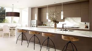 counter height kitchen chairs. Luxury Unique Counter Height Bar Stool Facing Long Brown Island With Marble Top And Modern Sink Kitchen Chairs