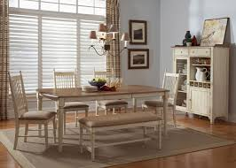 Maple Kitchen Table And Chairs Rectangular Casual Dining Table In Maple Veneers With Weathered