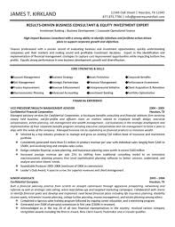 sample consultant resume template resume sample information sample resume template for business consultant financial experience