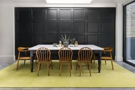 rug melrose yellow walls farrow ball off black