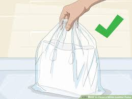 image titled clean a white leather purse step 10