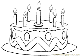 Small Picture Birthday Coloring Page 05 Coloring Page Free Holidays Coloring