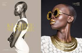 seven tribes magazine makeup by malika belfor