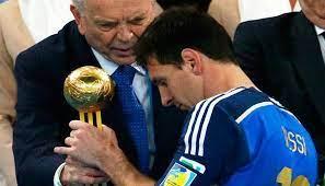 بلاتر: ميسي لم يستحق جائزة كأس العالم 2014