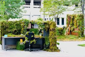 green office building. Green Office Building