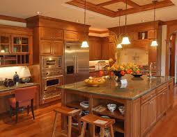 kitchen remodel with oak cabinets walls interiors