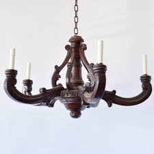 antique french wood chandelier antique wood chandelier the big chandelier