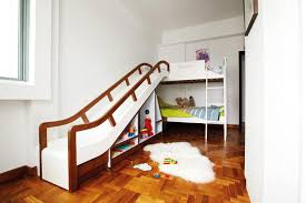 kids loft bed with slide.  Loft Which Kid Wouldnu0027t Want To Slide Out Of Bed Every Morning You Can Also  Build In Storage Shelves Under The Make Better Use Space To Kids Loft Bed With Slide S
