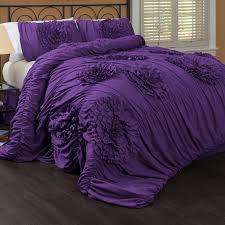 special edition serena purple bedding set