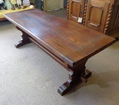 antique french oak dining table and chairs. th century french antique oak trestle table from dining and chairs