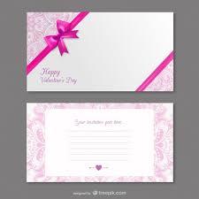 Valentines Invitations Valentines Invitation Card Vector Free Download