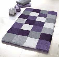 Purple Gray Rug Grey Bathroom Rugs Purple Bathrooms Purple Bath Rugs