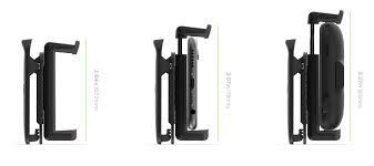 Mophie Universal Smartphone Belt Clip - Black :: MobileZap Australia