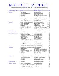 Cover Letter Theater Resume Template High School Theater Resume