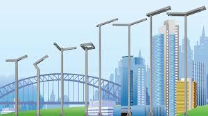 modern architectural lighting. plain modern polar lighting poles highrises intended modern architectural