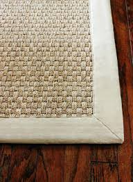 the seagrass rug sisal rugs are pretty but they stain very quickly and really show wear and tear jute rugs get snags and can unravel over time seagrass rugs