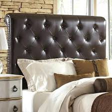 Headboards Tufted Sleigh Headboard Upholstered Tufted Sleigh Bed