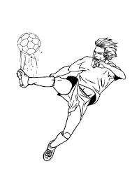 Kids N Fun Kleurplaat Voetbal Voetbal