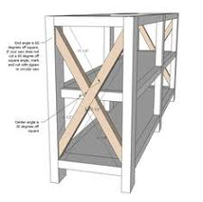 rustic furniture plans. ana white build a rustic x console free and easy diy project furniture plans e