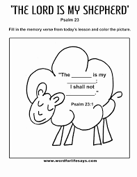 Jesus The Good Shepherd Colouring Sheet Printable Coloring Page