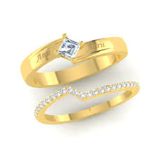 Design A Promise Ring Online Womens Designer Stackable Ring Set