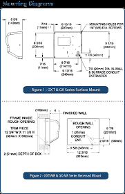 american dryer commercial hand dryer gx1c 110 120v one side of dryer should be mounted to stud all surface mount dryers are provided conduit entrances for both between wall and surface wiring
