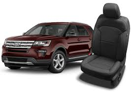 ford explorer seat covers leather