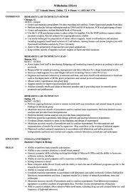 Sample Lab Technician Resume Research Technician Resume Resume Sample